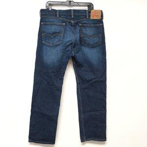 Levi's 505 Men's Jeans 38 x 30 Dark All Cotton